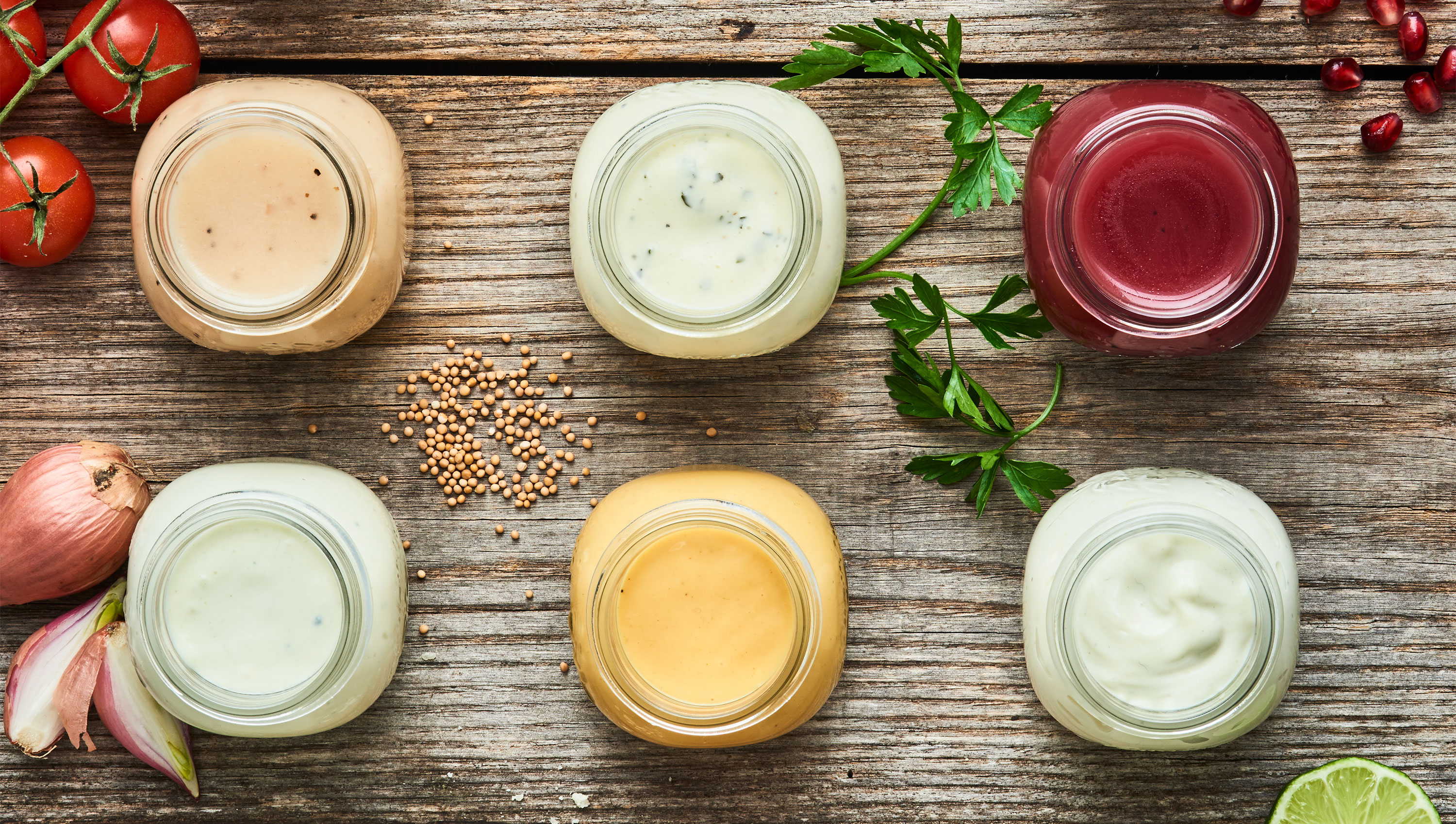 Global Flavors of Marie's Salad Dressings