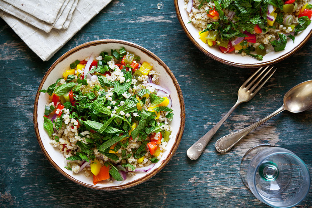 Grain salads and bowls create opportunities for salad dressings